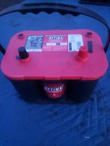 Optima High Performance Agm Battery 34r 8003 151 Red Top 12v