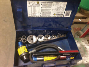Current 161ss Knockout Punch Set 1 2 2 Hydraulic Ss