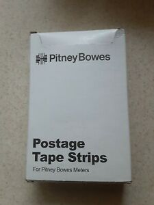 New Pitney Bowes Postage Tape Strips 625 9 300 150 Double Sheets 300 Tapes