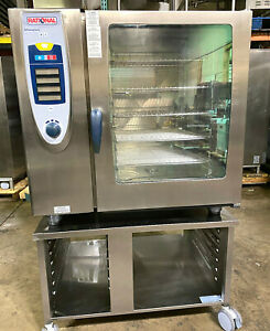 Rational Scc102g nat Gas Combi Oven 10 Pan Full Size fully Refurbished
