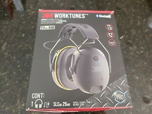 3m Worktunes Connect Hearing Protector 24db Nrr Bluetooth Hifi Sound 8898