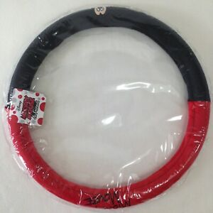 Authentic Disney Mickey Mouse Car Accessories Plush Steering Wheel Cover 36 5 39