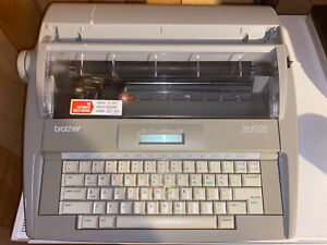 Brother Sx 4000 Electronic Typewriter In Working Condition