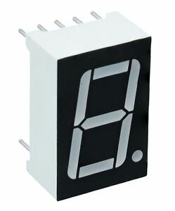 Red 0 56 1 Digit 7 Seven Segment Display Anode Led