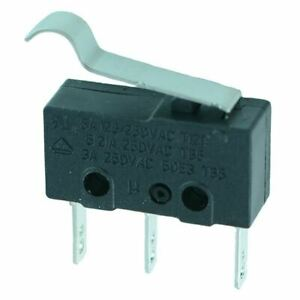 Arc Lever V4 Miniature Mini Microswitch Spdt 5a Micro Switch