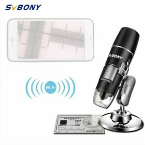 Digital Microscope Magnifier Camera Wifi Usb With Stand For Android Phone