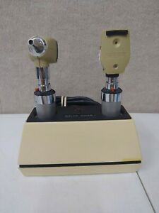 Welch Allyn Set Otoscope Opthalmoscope 71110 Charger 240 Rechargeable Handles B