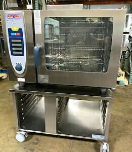 Rational Scc62g nat Gas Combi Oven 6 Pan Full Size fully Refurbished