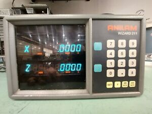 Anilam Wizard 211 2 Axis Read Out Display Dro 9 pin A221200 Cnc Mill Lathe