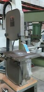 King 14 Vertical Band Saw W 14 X 14 Table
