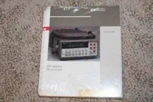 Hp 34401a Multimeter Users Guide And Service Manual Hewlett Packard
