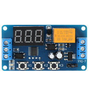 Display Automation Digital Delay Timer Control Relay Switch Module Tm P2t9