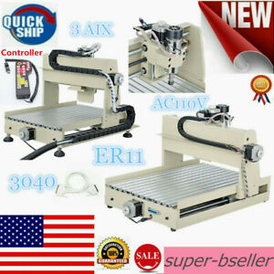 3 Axis Cnc 3040 Router Engraver Er11 400w 3d Milling Drilling Max 1500mm min