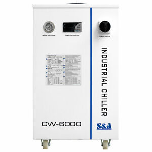 Us Stock S a Cw6000dn Industrial Water Chiller For 100w Solid state Laser