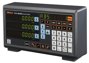 Mitutoyo Ka 213 3 Axis Linear Scale Counter Digital Readout Display Console