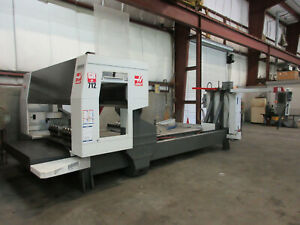 Haas Gr 712 Gantry Mill Router Only 3700 Hours 5 Axis X 145 Y 85 Z 11