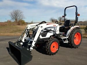 New Ct2025 Compact Tractor W Front Loader 4x4 Hydro 540 Pto 24 5 Hp Diesel