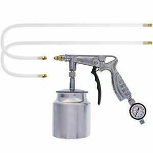 Tcp Global Air Rust Proofing And Undercoating Gun With Gauge Suction Feed Cup