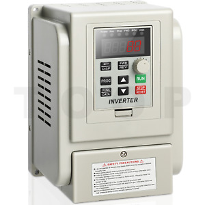 2hp Vfd 220v 1 5kw Variable Frequency Drive Inverter Single To Three Phase