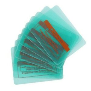 10 Pcs Clear Welding Cover Lens Pc Protective Sheet Accessories Set 115 90mm
