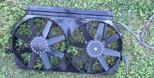 Flex A Lite Electric Dual 15 Cooling Fans Fit Chevy Gmc Others