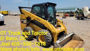 2017 Caterpillar 262d Cat 262d Cab A c Rubber Tire Skid Steer Loader Used