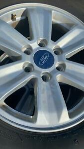 Michelin Set Of 4 Original Ford Tires And Wheels P245 70r17 Used Tires