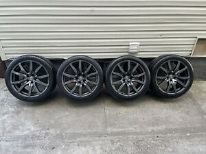 Genuine Nissan Gtr 20 Wheels Rays Oem R35 Gt R Local Pickup Only No Shipping