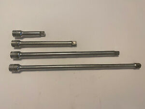 Vintage 3 8 Drive Extension Set Lot Of 4 Mixed Craftsman And Snap On