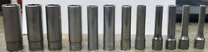 Snap On 1 4 Drive Metric Deep 6 Point Socket Stmm Set 12 Pc With Stand Holder