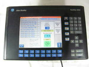 Allen Bradley Panelview 1000e Interface 2711e k10c6 Works With Minor Issues