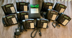 Esi Ivx E class Generation Phone System W Power Supply And 10 48 Key Phones