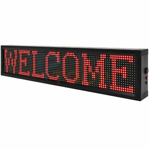 Bright Led 40 x8 Sign Neon Light Business Store Ad Board Wifi Programmable