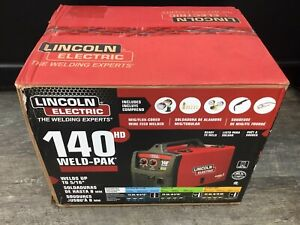 Lincoln Electric 120v Weld Pak 140 Hd Wire feed Welder K2514 1 New Sealed Box
