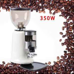 Home Commercial Electric Auto Burr Coffee Grinder 350 W 1400rpm Mill Machine