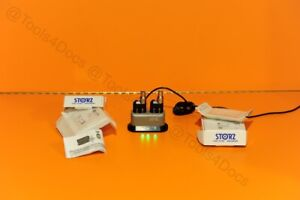 Set Of New Storz 11301df Portable Battery Led Light Sources For Endoscopes