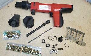 Hilti Dx200 Piston Drive Fastening Tool With Extras Powder Actuated