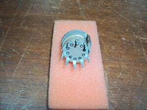Grayhill Miniature Rotary Switch 1 Od 10 Position 1 Amp Series 24 Nos