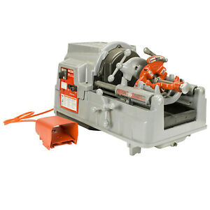 Reconditioned Ridgid 535a V3 Auto Chuck Pipe Threader 84097 With 811a Dies