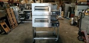 Lincoln Impinger Double Deck Electric Pizza Oven 1162 Works Great
