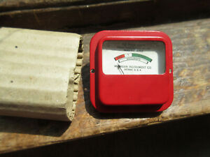 Meter For Tube Tester Michigan Instruments Nos