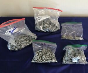 Lead Sinkers for Fishing or Remelting for Bullets 22 Pound Lot $35.00