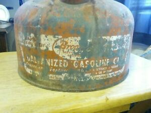 Vintage 2 1 2 Gallon Safety Fuel Gas Can Sp 2 5 Red Clean aired Out