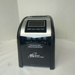 Royal Sovereign 4 Row Electric Coin Counter Anti Jam Technology Digital Display