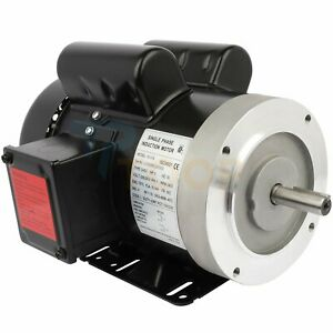 3hp Single Phase 208 230 Volt 3450 Rpm Air Compressor Electric Motor