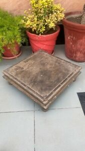 Coffee Tea Table Low Table Wooden Hand Carved 1800 S Antique Table Rare Bazot