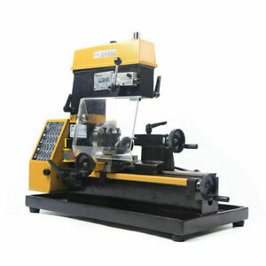 3 in 1 Drilling And Milling Lathe Machine Micro Lathe Multi function 55 30 48 Cm