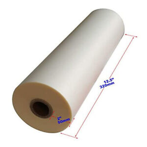 1roll Glossy Thermal Laminating Film 12 5 In 656 Ft Uv Luster Hot Films New