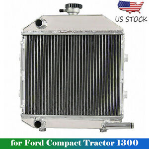 For Ford Compact Tractor 1300 Engine Sba310100211 Aftermarket Aluminum Radiator