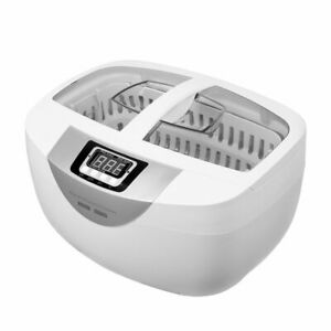 Digital Dental Stainless Steel Ultrasonic Cleaner Sonic Jewelry Watch Cleaning